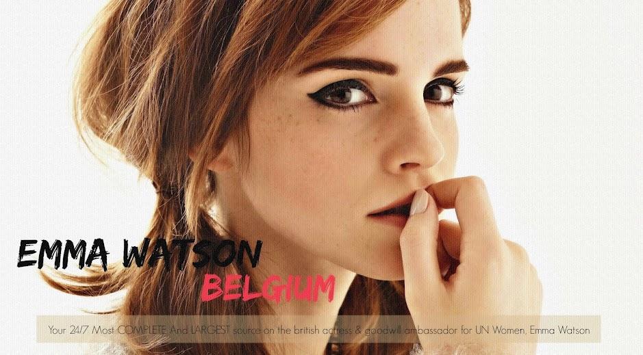 Emma Watson BELGIUM