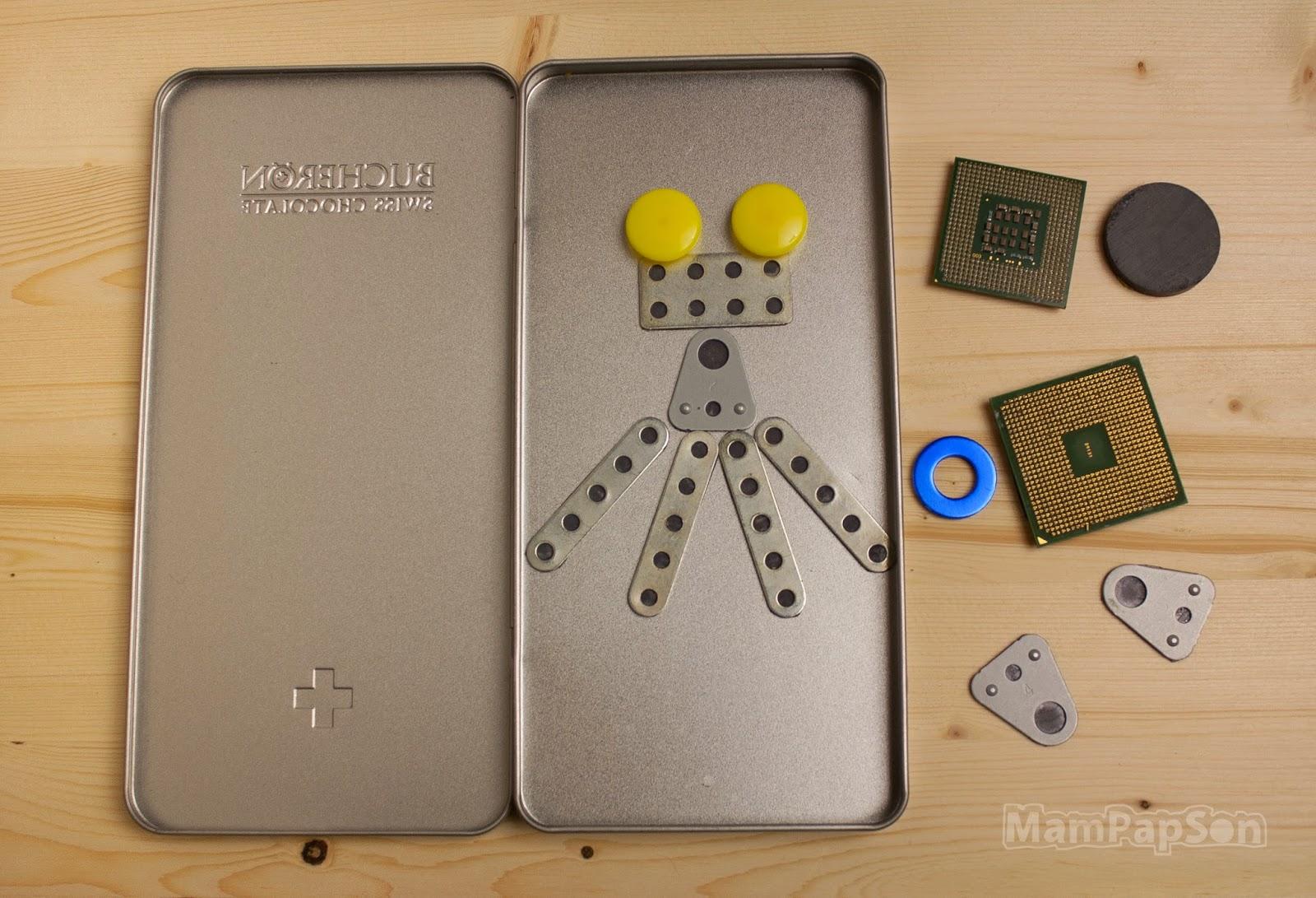 Робот на магнитах-3