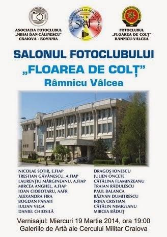 Salonul fotoclubului Floarea de Colţ la Craiova