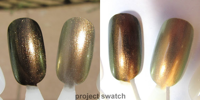 Maybelline 715 Boho Gold swatch