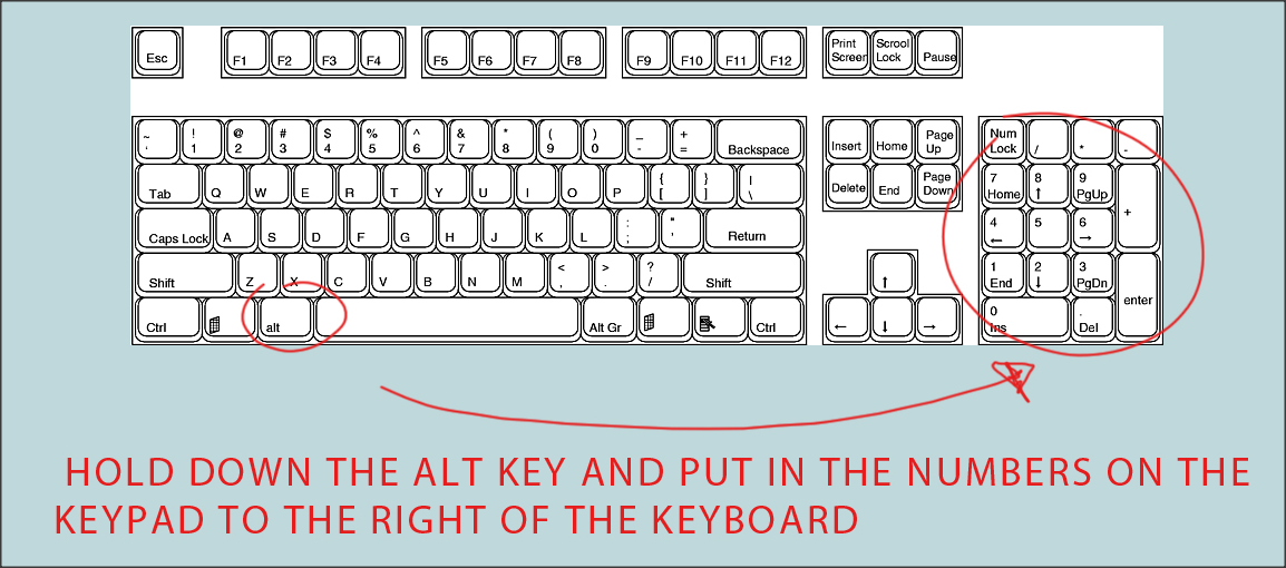 How To Make Symbols With Keyboard Best Quotes