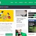 Template Grátis para Site de Notícias Modelo Flat Mag