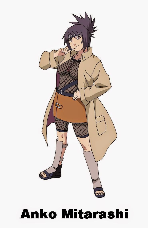 9.Mitarashi Anko