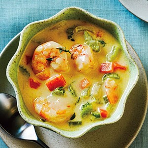 http://www.myrecipes.com/recipe/quick-shrimp-chowder