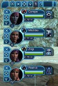 Star Trek Online - Team Panel