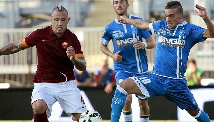 Roma vs Empoli en vivo