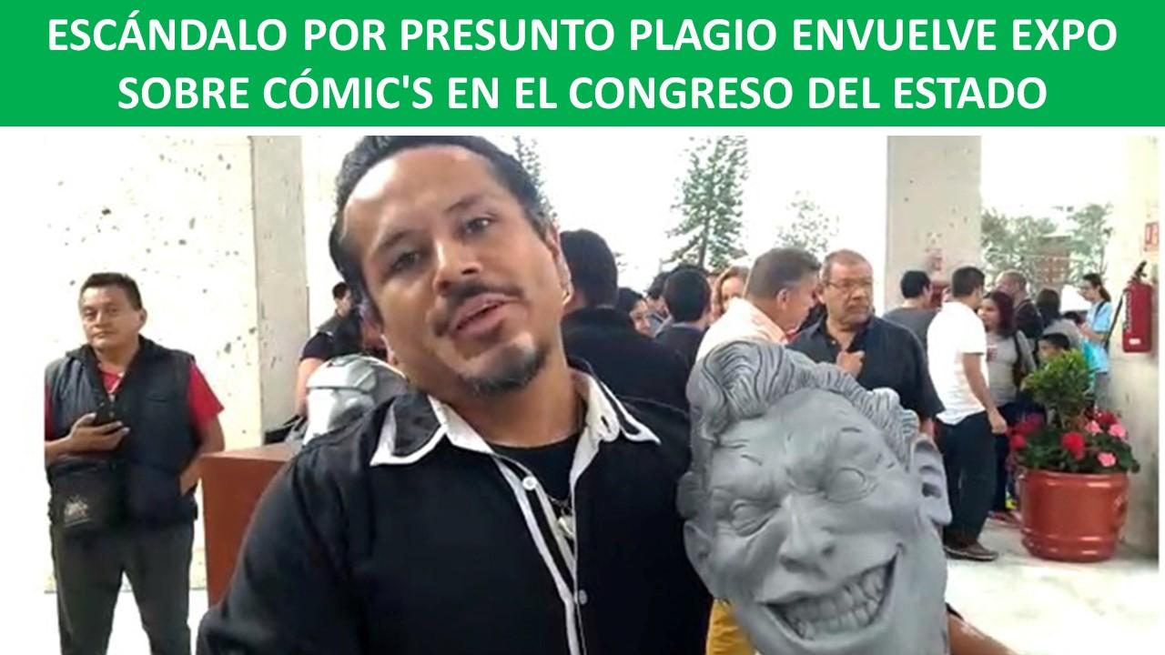 EXPO SOBRE CÓMIC'S EN EL CONGRESO DEL ESTADO