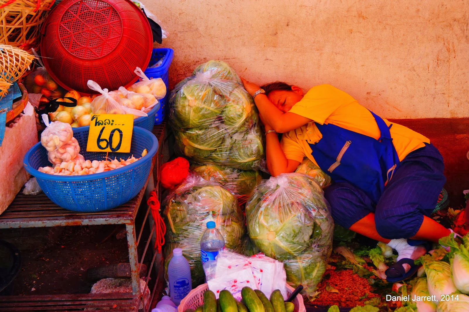 Chiang Rai Woman Sleeping