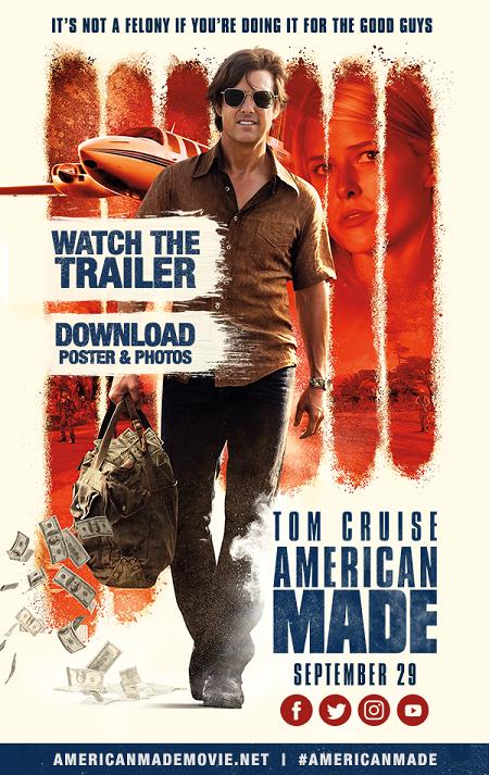 American Made (Barry Seal: El Traficante) (2017) 720p y 1080p WEBRip mkv AC3 5.1 ch subs español