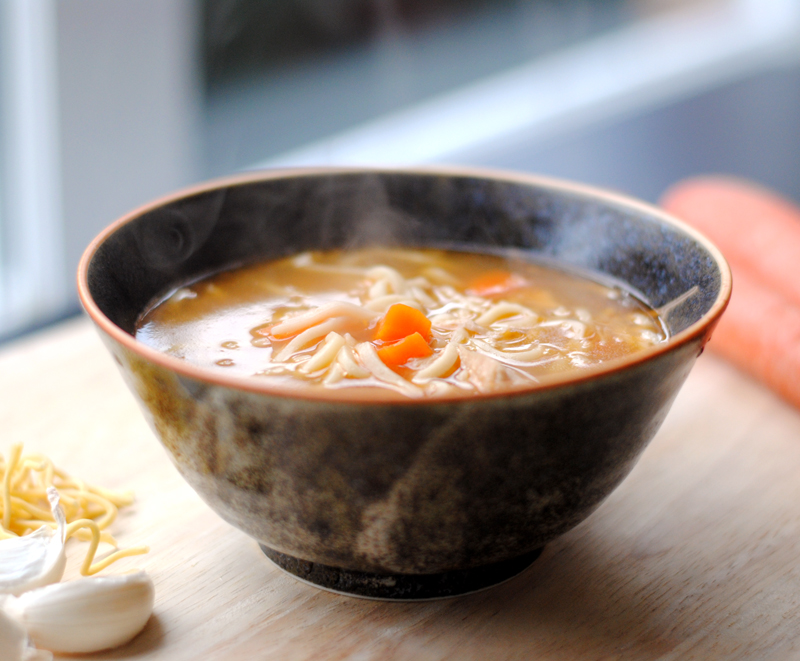 Leanne bakes: Spicy Asian Chicken Noodle Soup