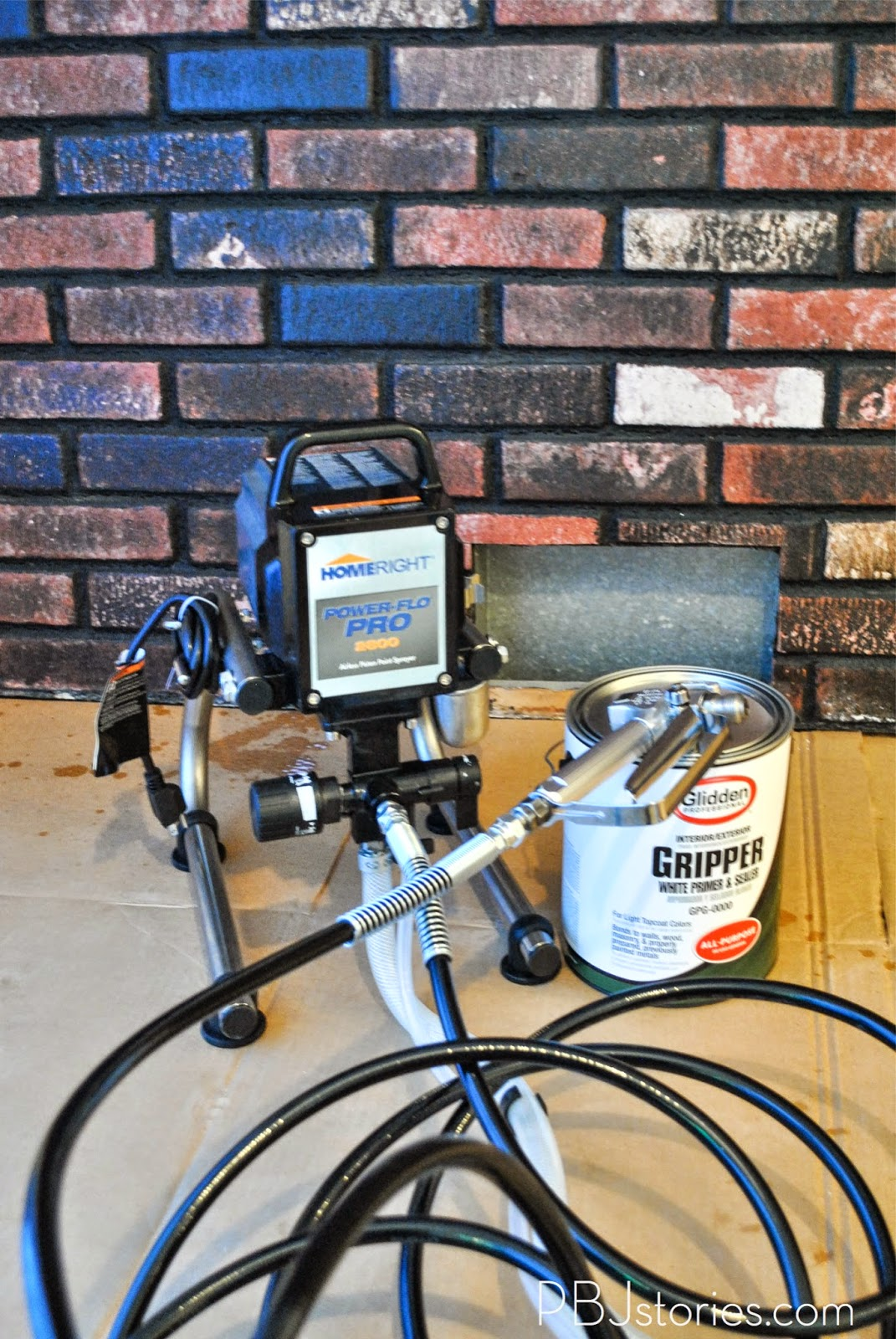 pbjstories how to paint an interior brick wall pbjreno. Black Bedroom Furniture Sets. Home Design Ideas