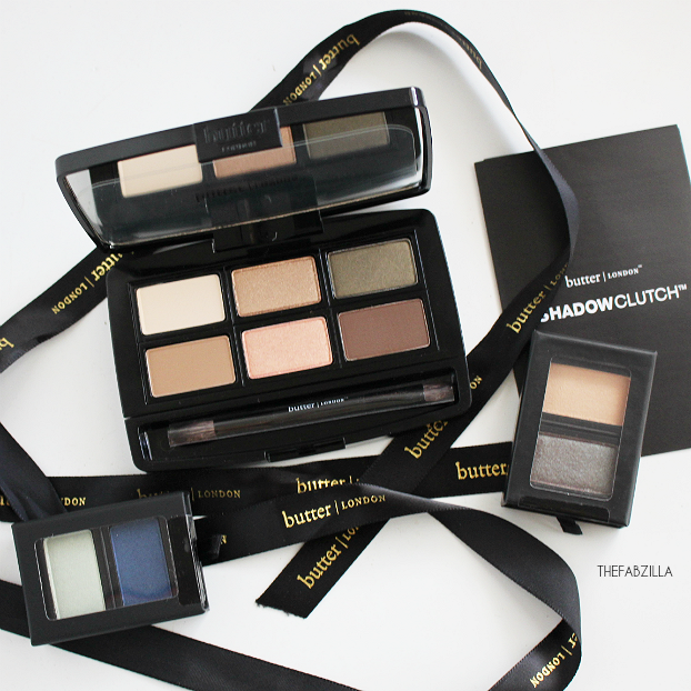 butter LONDON ShadowClutch Customizable Colour Palettes, Review, Swatch, Fall Makeup how to