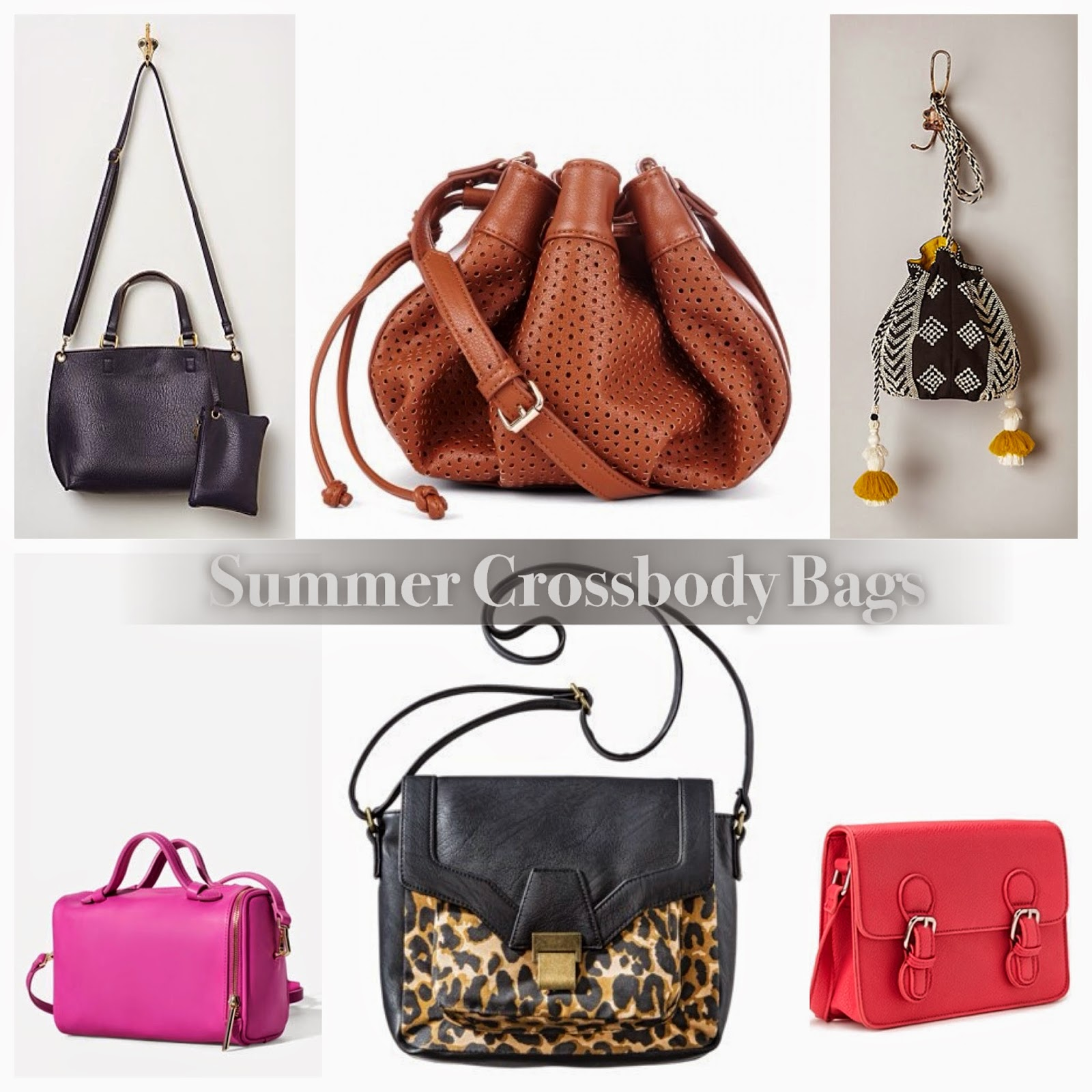 Quirky At Large: Affordable Crossbody Bags for the Summer