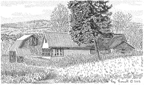 Pencil Sketches Agriculture