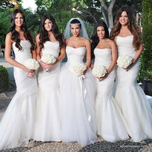 Kim Kardashian Wedding Photos: THEROYALSEVEN WEDDING DRESS