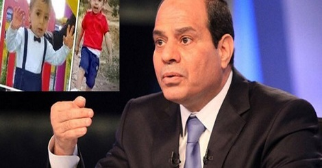 أول تصريح للرئيس السيسي علي الطفل السورى إيلان