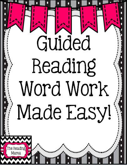 http://www.teacherspayteachers.com/Product/Guided-Reading-Word-Work-Made-Easy-1173271