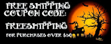 ~ FREE SHIPPING FOR ORDERS OVER $50! ~