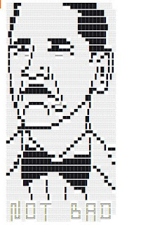 Not bad barack obama text art- Cool ASCII Text Art