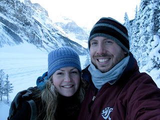 Chris and Sarah at Lake Louise