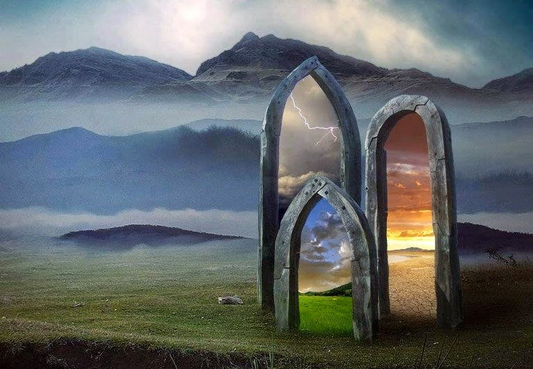 Likewise doors and portals in dreams often represent similar things since they are both gateways to another room building realm or time. & Wandering Spirit: Portals and the Dreaming World