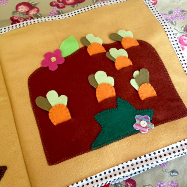 Quiet Book 2 - Livro interativo em feltro para atividades pedagógicas @ateliemadrica