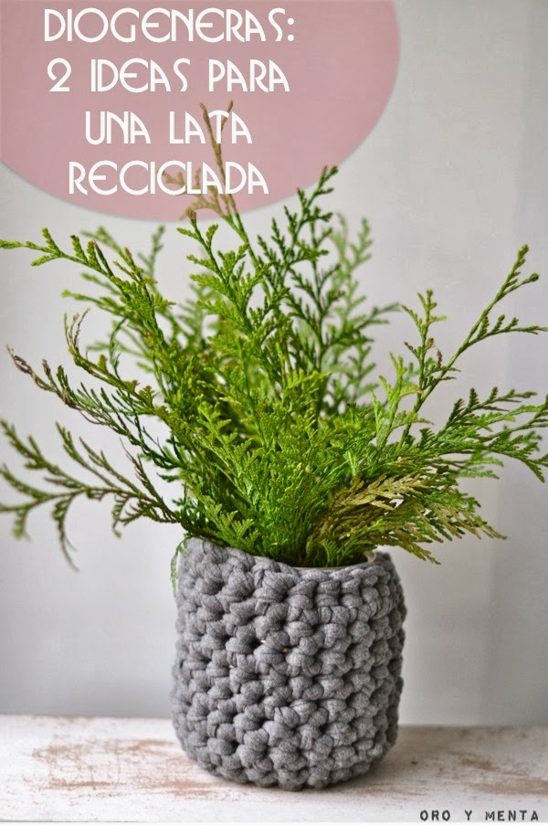 Oro Y Menta Diogeneras 2 Ideas Para Reciclar Una Lata De Conservas - Ideas-para-reciclar-cosas