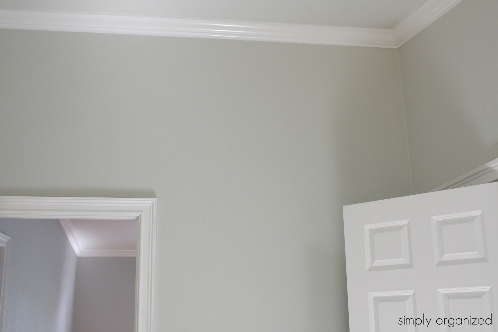 simply organized: my home interior paint color palate