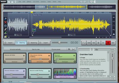cara membersihkan suara bising pada file audio