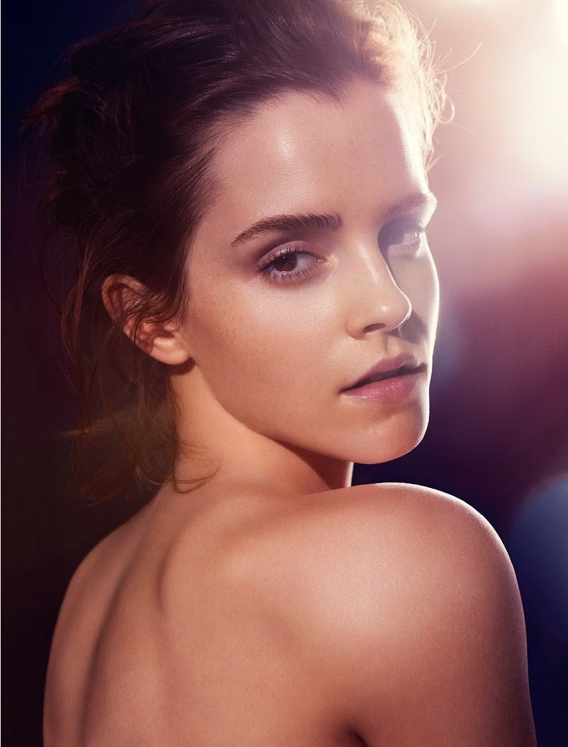 GoosBall: Emma Watson gets naked looking for Natural