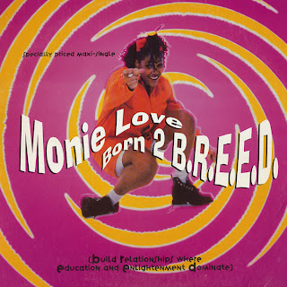Monie Love – Born 2 B.R.E.E.D. (Vinyl) (1993) (VBR)