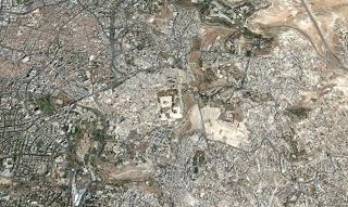 Masjidil Aqsa Foto Udara