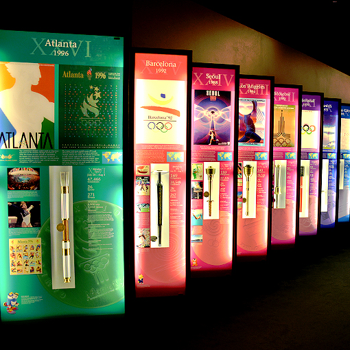 Olympic Torches |  1996 Summer Olympic Games | Atlanta History Center