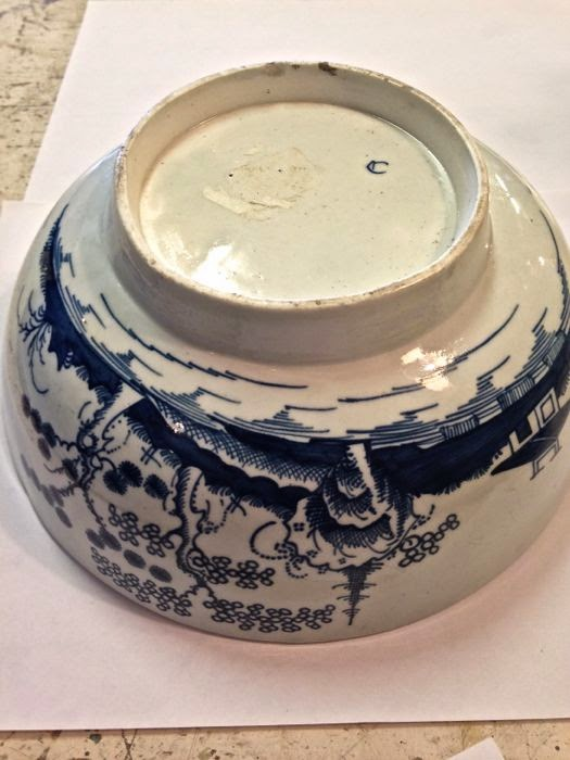 Worcester soft paste porcelain Dr Wall period