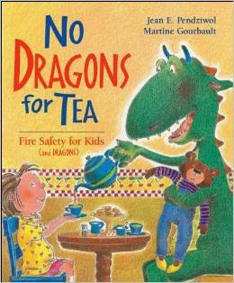 http://www.amazon.com/No-Dragons-Tea-Fire-Safety/dp/1550745719
