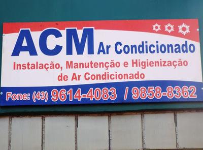 A C M Ar condicionado