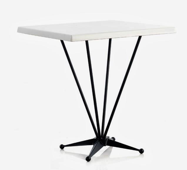 mesa forja con Werzalit, mesa terraza, mesa velador