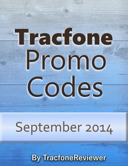 Tracfone Promo Codes September 2014