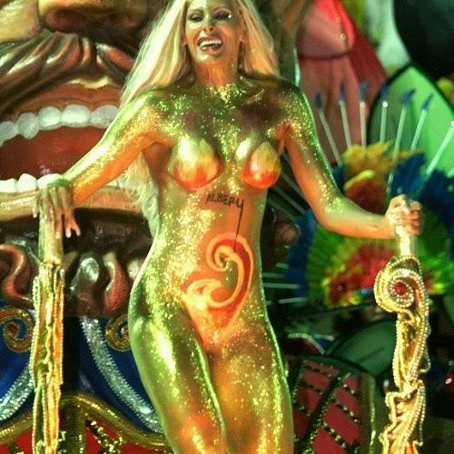 El Sambodromo De Rio En Brasil Y Sus Tradicionales Carnavales Mujeres