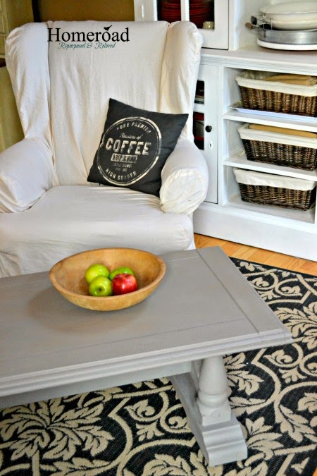 DIY The RH Coffee Table Look www.homeroad.net
