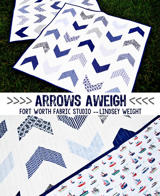Fort Worth Fabric Studio: Arrows Aweigh {Boy Quilt} : baby boy quilt patterns easy - Adamdwight.com