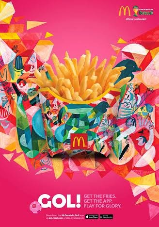 The best thing about the #WorldCup: #McDofries boxes!