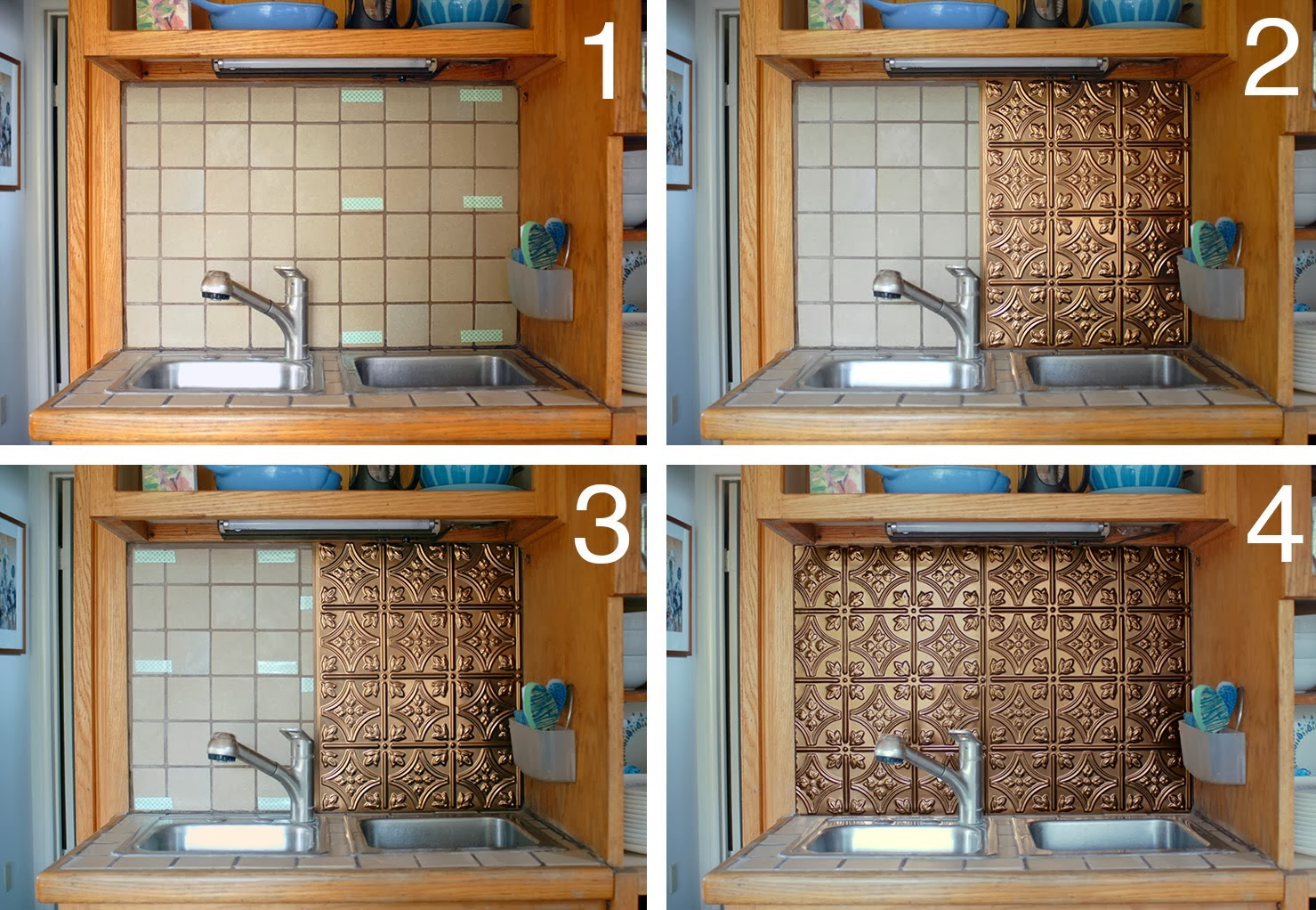 Cover a Backsplash in a Rental