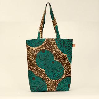 Ugo's Boutique African Wax shopper - iloveankara.blogspot.com