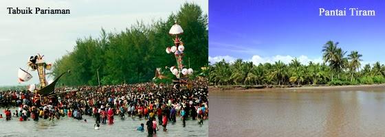 Nama Objek Wisata di Pariaman  Sumatera Barat