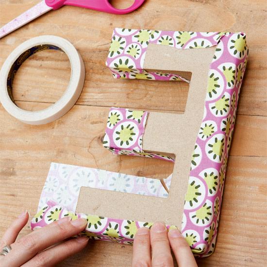 Taller de artes creativas letras para decorar - Como hacer letras decorativas ...