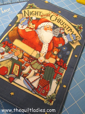 Making a Christmas Fabric Book