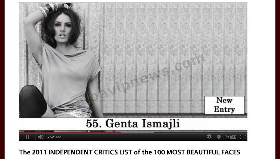 ALBA VIP Thashetheme: Genta Ismajli ne mesin e 100 femrave ...