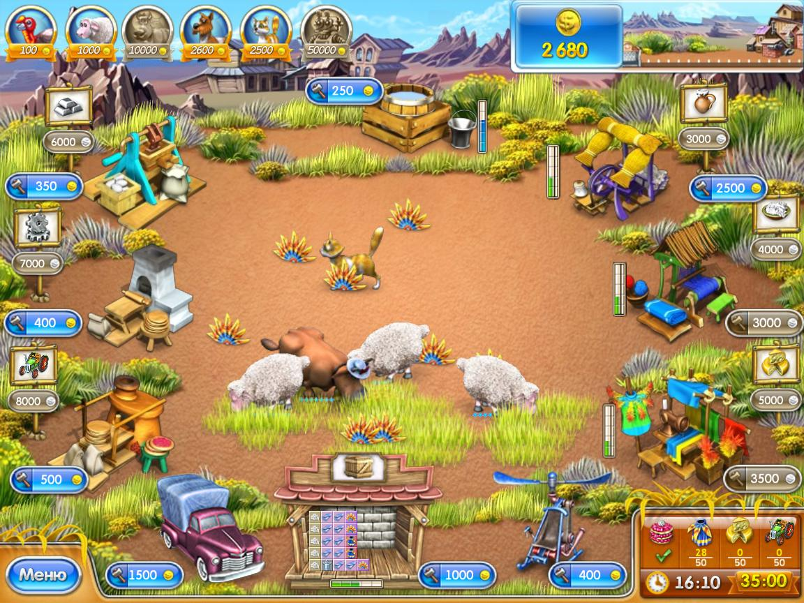 Игры для девочек и веселая ферма