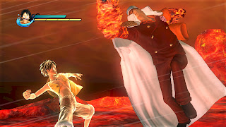 One Piece Pirate Warriors Gamescom Gameplay Screenshots Luffy Fleet Admiral Sakazuki Akainu